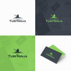 The Turf Ninja - Help us create our identity! We are a lawn maintenance company and this logo is going on our truck and trailer, website, business cards and social...
