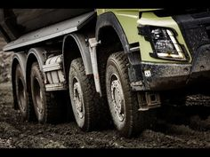 Volvo Trucks - Running footage: A Volvo FMX with Automatic Traction Control - YouTube