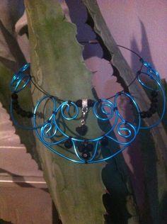 Colliers - opulente Kette - ein Designerstück von Lausitzkind-Eventschmuck bei DaWanda