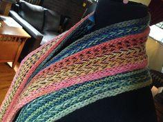 Ravelry: Herringbone Twisted Float Scarves pattern by Annie Modesitt
