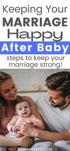 If you're struggling to keep your marriage alive after giving birth, stop and read this article. We'll help you see some common reasons new parents really struggle together and how you can overcome these common struggles for the sake of your family and marriage. Unhappy Marriage, After Giving Birth, After Baby, Baby Steps, New Parents, Pregnancy, Relationship, Couples, Reading