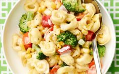 Pasta salad is a summertime classic and an easy, picnic-ready fave. Get two more variations on Pasta Salad here »