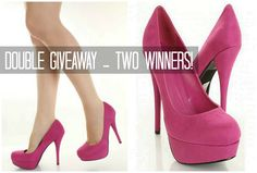 http://www.freckled-fox.com/2013/04/double-winner-high-heel-giveaway.html
