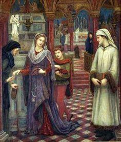 Marie Spartali Stillman (1844 – 1927, English) Dante and Beatrice
