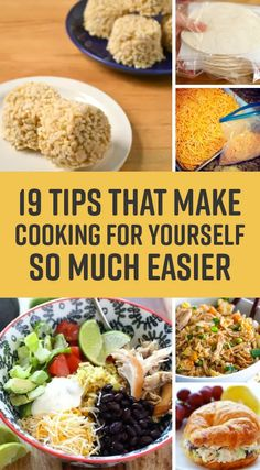 19 Easy Single-Person Cooking Ideas That Won't Waste Food Or Get Boring. Hin… 19 Easy Single-Person Cooking Ideas That Won't Waste Food Or Get Boring. Hint: It's all about the freezer! Cooking For One, Cooking On A Budget, Easy Cooking, Healthy Cooking, Cooking Tips, Cooking Recipes, Cooking Games, Cooking Light, Cooking Classes