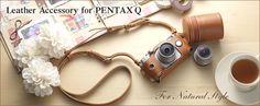 PENTAX Q 専用カメラジャケット&ストラップ