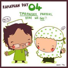 """A Muslimah's Musing's: Fun day) Ramadan Calendar day """"Tarawikh and go"""" Ramadan Dp, Islam Ramadan, Ramadan Mubarak, Quotes Ramadan, Ramadan Activities, Ramadan Crafts, Eid Crafts, Ramadhan Quotes, Cool Calendars"""