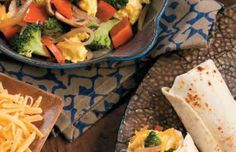 Veggie Scramble Wraps | EatFresh