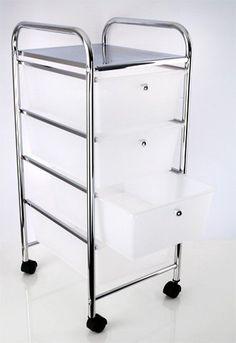 Haushalts- und Badwagen Rollwagen rollbar, 4 Schubladen, Chrom, Kunststoff,weiß Duschy http://www.amazon.de/dp/B00HBQZ2TA/ref=cm_sw_r_pi_dp_Yfkyub0GCYNRG