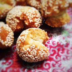 Chinese Smiling Sesame Cookie Balls  笑口棗     By Ellen L. Published: 2016-01-26  It's almost time for the Chinese New Year 中國新年 and happy,...