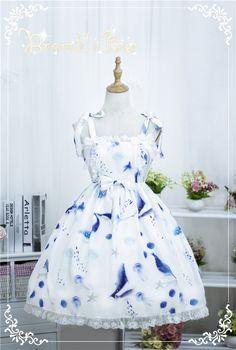Song of The Sea -Elegant Lolita JSK Dress Version II -Pre-order