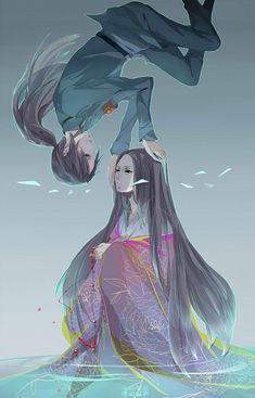 Hetalia- China and Fem!China. This fan's version of Fem!China is beautiful. O.O