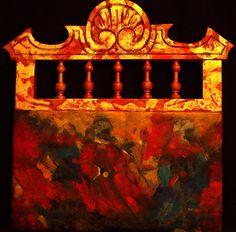 Corro del diálogo II. #serienazarí #contemporaneo #elche #art #paintings #antoniasoler #contemporaryart http://antoniasoler.com/es/blog