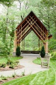 Memphis Botanic Gardens Blecken Pavilion