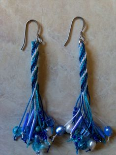 could do with boondoggle - like all the different beads on the tassle