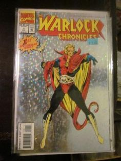 Warlock Chronicles #1  Nice Holo Foil Cover Marvel Comics http://graphic-illusion.com