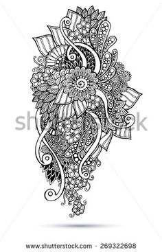 stock-vector-henna-paisley-mehndi-doodles-abstract-floral-vector-illustration-design-element-black-and-white-269322698.jpg (302×470)