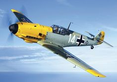 "Stupid sexy German Messerschmitt Bf 109 - ""Yellow Nosed Bastards"""