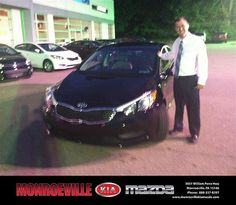 Thank you to Lvonne Gides on your new 2014 Kia Forte from Jay Grimes and everyone at Monroeville Kia Mazda!
