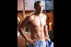 Mmmmm....Jesse Williams AKA Dr. Jackson Avery from Grey's Anatomy