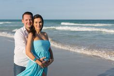 We went to South Pointe Park in Miami Beach to photograph this couple and document her pregnancy. Maternity Photographer, Maternity Session, Miami Beach, Pregnancy Photos, Sunset, Couples, Photography, Women, Fashion