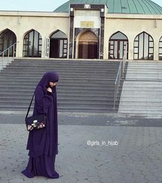 A Queen Wearing Jilbab