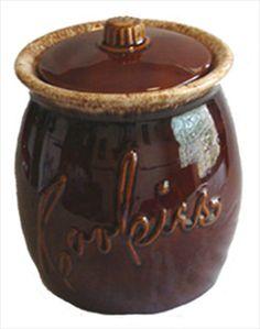 Hull Brown Cookie Jar