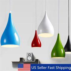 Vintage Industrial Chandeliers Hanging Ceiling Light Pendant Lamp Shade Fixture #Unbranded #Industrial