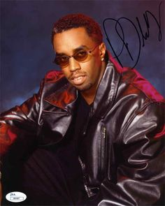 Diddy Signed AutographedPuff Daddy Record Album P