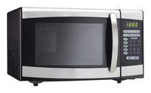 Danby - Designer 0.9 Cu. Ft. Compact Microwave - Stainless Steel (Silver), DMW099BLSDD
