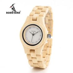 f087b3f9129 Newest Ladies Quartz Wooden-Bamboo Watch. Cool WatchesWooden WatchLadies  Watches OnlineGold ...