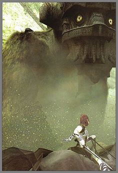 Shadow of the Colossus Shadow Of The Colossus, Game Art, Gaming, Button, Painting, Videogames, Painting Art, Paintings, Game