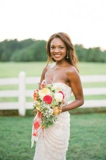 I like the colors in this photo. Southern Weddings Family Heirlooms « Southern Weddings Magazine check out our hair and makeup for this stunning photo shoot with Farm Wedding, Wedding Bride, Dream Wedding, Wedding Dresses, Wedding Bouquets, Wedding Flowers, Southern Weddings, Country Weddings, Elegant Flowers