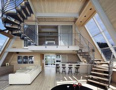 Image 8 of 21 from gallery of A-Frame ReThink / Bromley Caldari Architects. Photograph by Mikiko Kikuyama