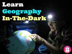 A fun way to teach kids geography - in the dark! http://freebies4mom.com/headlights/ #LightMyWay #shop #cbias