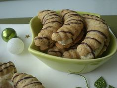 Czech Recipes, Graham Crackers, Christmas Baking, Baking Recipes, Rum, Sausage, Almond, Muffin, Food And Drink