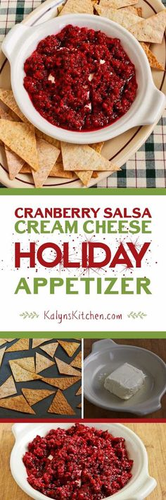 Trina's Low-Sugar Fresh Cranberry Salsa with Cilantro ...