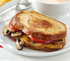 Portobello Gouda Grilled Sandwich (1) From: Taste Of Home, please visit