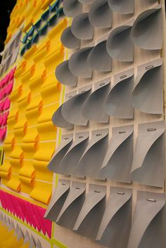 post-its! by display lady / rachel t robertson, via Flickr