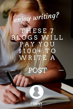 Ready to put those writing skills to work earning cash in your spare time? Put together blog posts for these sites and you could earn at least $50 a pop. Here's a list of paying sites to get you started. - The Penny Hoarder http://www.thepennyhoarder.com/enjoy-writing-7-blogs-want-pay-guest-posts/