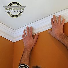 Easy Crown Molding Peel and Stick Crown Molding,