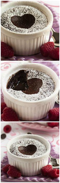 Best Ever Easy Chocolate Lava Cakes - What do you get when you make a bittersweet chocolate torte and leave the center molten? You get the BEST Chocolate Lava Cake I've ever had.