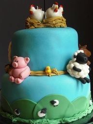 "Cute farm cake! #farm #cake"" data-componentType=""MODAL_PIN"