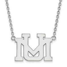 10 Karat Gold LogoArt University of Montana Pendant with Necklace