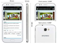 osell wholesale dropship S7180(1) MTK6577 Android4.0.4 3G GPS WIFI  5.5'540*960 (QHD)Capacitance Smartphone $175.94