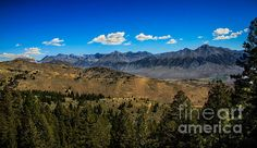 Lost River Mountains: See more images at http://robert-bales.artistwebsites.com/