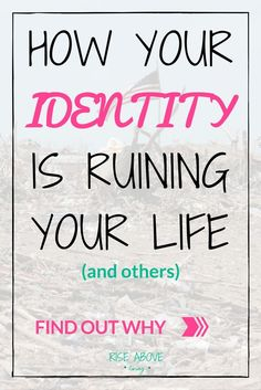 Learn how letting go of your identity can create freedom, peace and love within yourself! Also, a free and quick exercise to help you do just that!  life hacks, life lessons, life coach, life motivation, life tips, life advice, who am I, identity quotes, identity activities, identity crisis, equality for all, spiritual being having a human experience, life, truths, world peace, inner-peace, peace quotes, peace of mind
