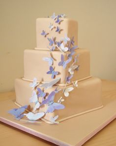 Peter/Olivia The Benchwarmers Page 849 The Benchwarmers, Periwinkle Wedding, Butterfly Wedding Cake, Wedding Cakes, Decorative Boxes, Desserts, Diy, Explore, Wedding Gown Cakes