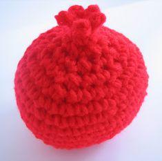 CROCHET N PLAY DESIGNS: Free Crochet Pattern: Pomegranate