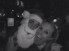 Me with Father Christmas!!